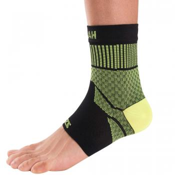 compression-ankle-sleeve-neon-yellow